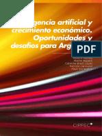 Inteligencia Artificial y Crecimiento Económico. Oportunidades y Desafíos Para Argentina - CIPPEC