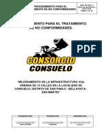 P-SSO-11- Procedimiento Para El Tratamiento de No Conformidades