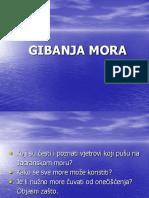 17. Gibanja Mora a