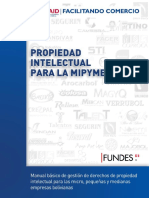 Libro Propiedad Intelectual Para La MIPYME - Version Optimizada