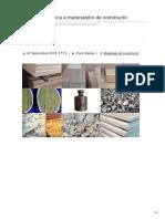 Rombadconstruct.ro-greutatea Specifica a Materialelor de Constructii