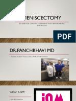 meniscectomy