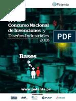 Bases Del Xvii Concurso Nacional de Invenciones y Diseños Industriales 2018