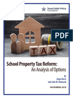 2018 10 School Property Tax Reform CEP Barro Diamond