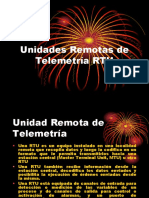 UNIDADES REMOTAS DE TELEMETRIA