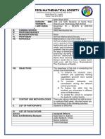 Project Proposals Format