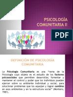 Psicología Comunitaria II