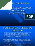 Politica de Precios Clase Competencia