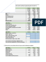 Dcf Valuation Exercise
