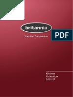 Coleccion de Cocinas Brittania