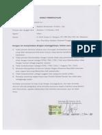 Surat Pernyataan Tidak Pernah Dipenjara Untuk CPNS