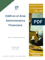 Organizacion Metodos
