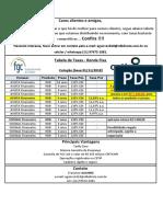 Taxas Renda Fixa 011118