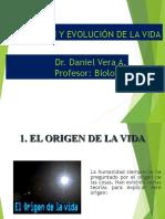 Origen y Evolucion de La Vida