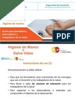 Herramienta. PPT Sesiones Formación de Formadores, Observadores y PS.