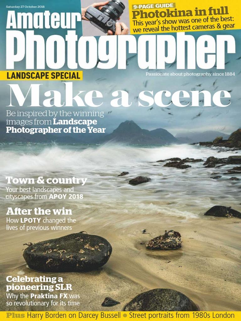 Amateur Photographer - October 27, 2018 UK   Aperture   Camera