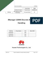 IManager U2000 Discrete Service Handling_02