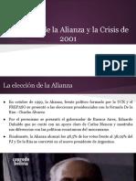 El Fracaso de La Alianza y La Crisis de 2001 (1)