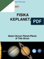Fisika Keplanetan