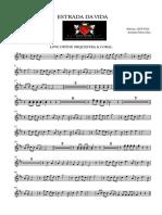 Estrada Da Vida - Trumpet in Bb