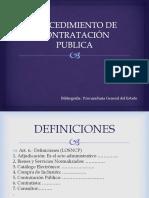 Contratación Publica 2da Clase