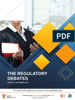 Regulatory Debates Sept 2018 l