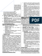 Derecho Registral II