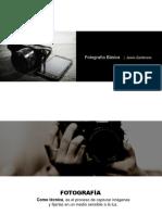 1 Fotografía y Tipos de Cámara