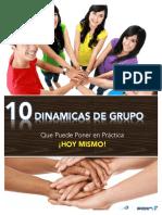 10 Dinamicas de Grupo