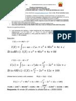 Problemas Aplicaciones de las integrales