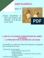 FILOSOFIA I UNIDAD 1 EL SABER FILOSOFICO 2015-16.ppt