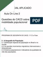 Aula 02 (Online) - Geografia (João Felipe)