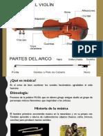 Presentación historia del violín para niños.