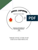 Theme Untuk Cover CD Kp Fakultas Teknobiologi