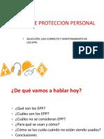 Equpos de Proteccion Personal