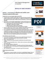 Fundamentals of Asset Integrity Implementation Module 1