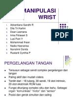 Kel. B1 Manipulasi Wrist