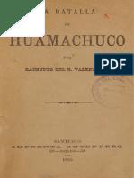 la batalla de huamachuco  por R Valenzuela .pdf