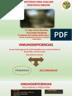 Métodos Para Evaluar La Respuesta Inmune