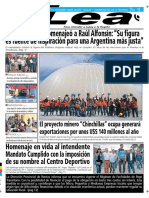 Periódico Lea Martes 30 de Octubre Del 2018
