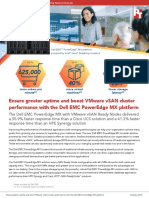 Ensure greater uptime and boost VMware vSAN cluster  performance with the Dell EMC PowerEdge MX platform