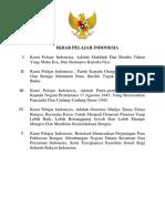 Ikrar Pelajar Indonesia