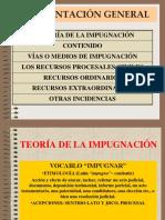 (1) LA TEORÍA DE LA IMPUGNACIÓN Y RECURSOS CIVILES-2