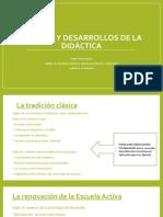 Fuentes y Desarrollos de La Didáctica