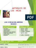 El Tayantinsuyo de Los Incas