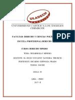 Desarrollo Minero PDF