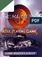 Serenity RPG - GM Screen Booklet