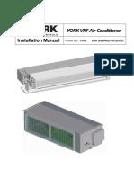 CM Installation Manual Ydcc Vrf Indoor (1)