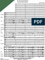 John Williams - Star Wars - Imperial March (Score - Partitura)