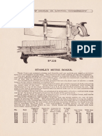 Stanley Mitre Boxes 1915
